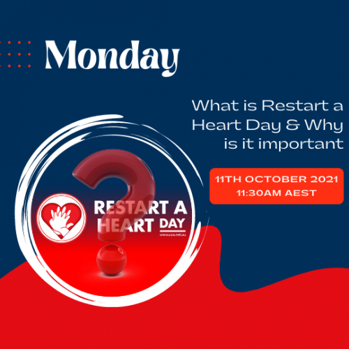 Monday - What is Restart a Heart Day
