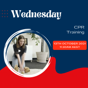 Wednesday - CPR Training